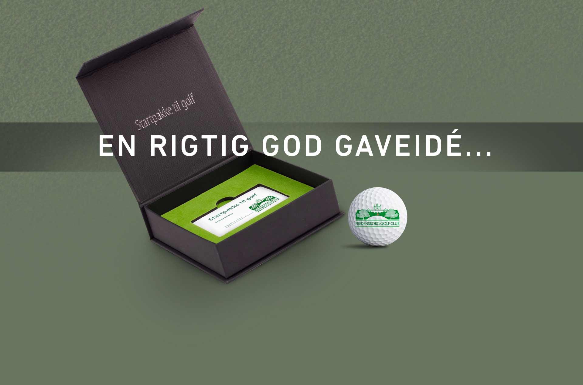 golf gavekort